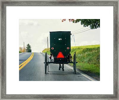 Time Machine Framed Print by Steve Harrington