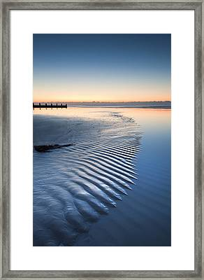 Time Framed Print by Matthew Gibson