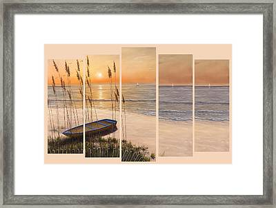 Time Of My Life - 5 Pc Set  Framed Print