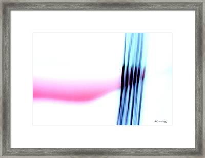 Time On A String 10 Framed Print by Xoanxo Cespon