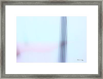 Time On A String 12 Framed Print by Xoanxo Cespon