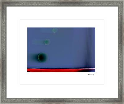 Time On A String 3 Framed Print by Xoanxo Cespon