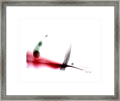 Time On A String 9 Framed Print by Xoanxo Cespon