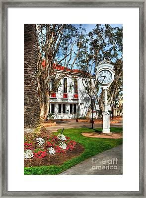 Time On Coronado Island Framed Print