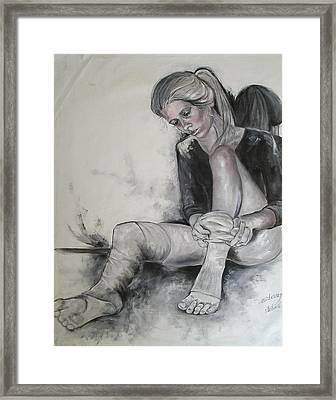 Time Out Framed Print by Marianne Stokes