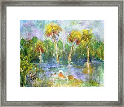 Time Out Framed Print by Mary Spyridon Thompson