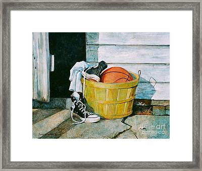 Time Out Framed Print by Sarah Luginbill