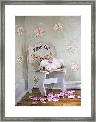 Time Out Variant 1 Framed Print by Lisa Jane