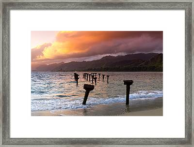 Time Passages Framed Print by Sean Davey