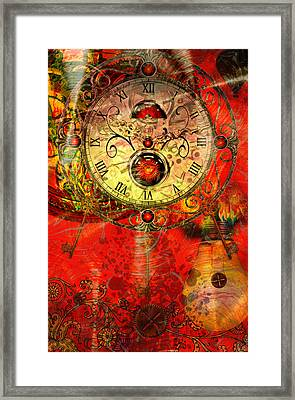 Time Passes Framed Print by Ally  White
