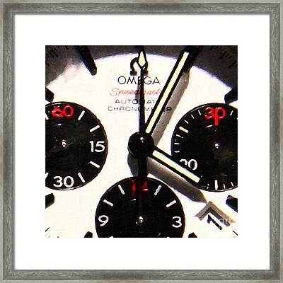 Time Piece - 5d20658 Framed Print by Wingsdomain Art and Photography