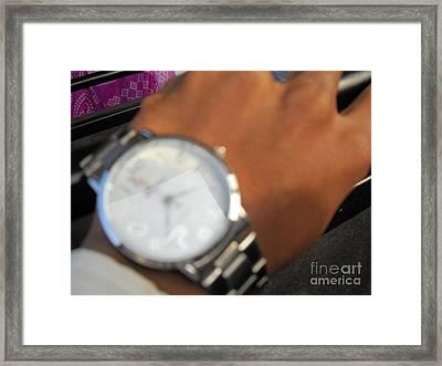 Time Piece Framed Print