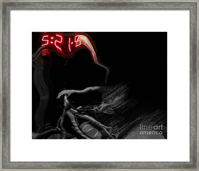......time...... Framed Print by Scott Allison