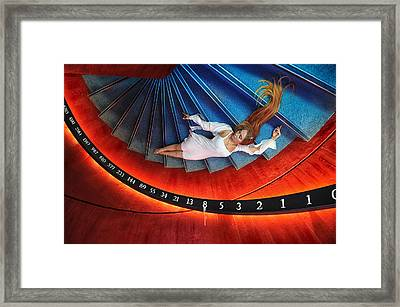 Time Sequence Framed Print