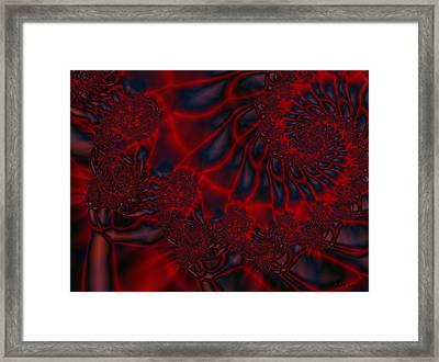 Framed Print featuring the digital art Time Slide by Elizabeth McTaggart