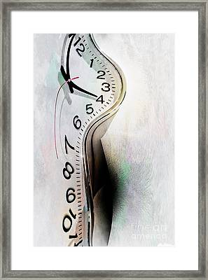 Time Slippin' Away Framed Print by Linda Matlow