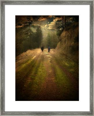 Time Stand Still Framed Print by Taylan Apukovska
