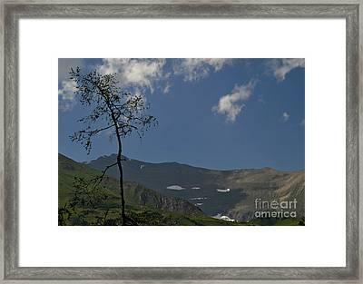 Time Stands Still High Alpine Region Austria Framed Print