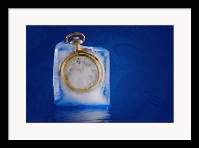 Frozen In Time Framed Prints