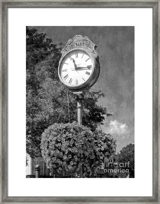 Time Stood Still 2 Bw Framed Print