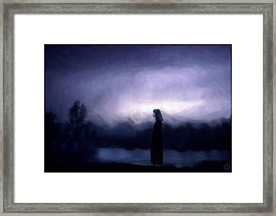 Time Stood Still Framed Print by Gun Legler