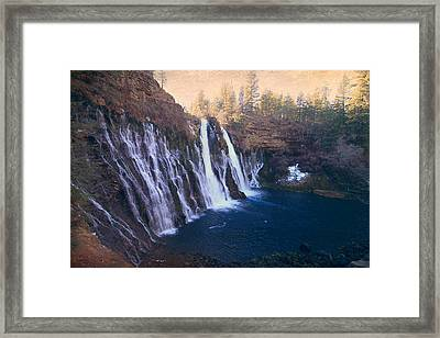 Time Stopped For A Moment Framed Print by Laurie Search