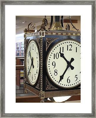 Time Suspended Framed Print by Scott Kingery