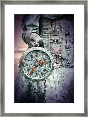 Time Time Time Framed Print by Jaroslaw Blaminsky