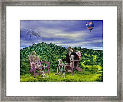 Time To Call A Doctor Framed Print by Betsy Knapp