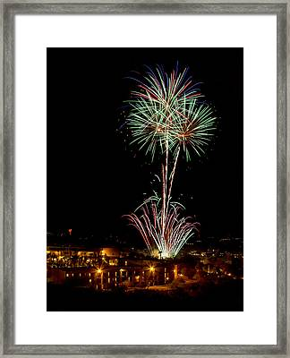 Time To Celebrate Framed Print
