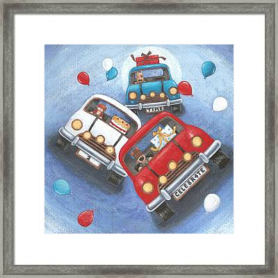 Time To Celebrate Framed Print by Peter Adderley