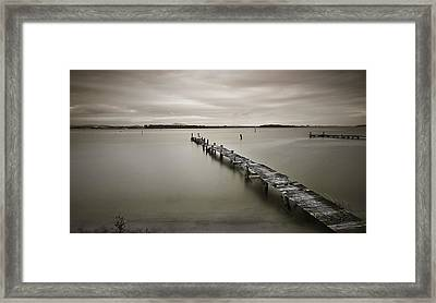 Time To Fish 01 Framed Print by Kevin Chippindall