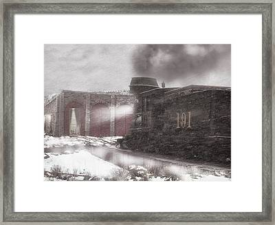 Time To Get In Framed Print by Ken Smith