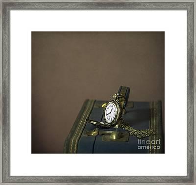 Time To Go... Framed Print by Evelina Kremsdorf