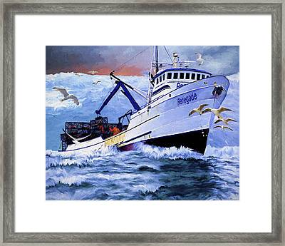Time To Go Home Framed Print by David Wagner