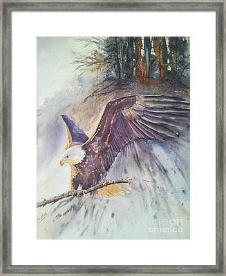 Time To Go Framed Print by Patricia Pushaw