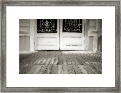 Time To Go Framed Print by Paulette Maffucci