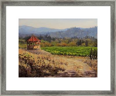 Time To Harvest Framed Print