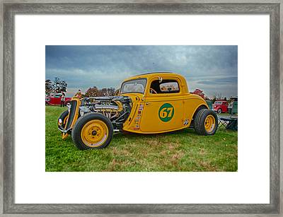 Time To Race Framed Print