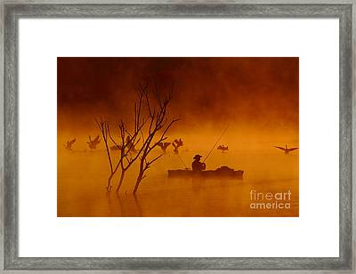 Time To Spread My Wings And Fly Framed Print