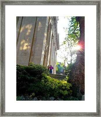 Time To Talk Framed Print