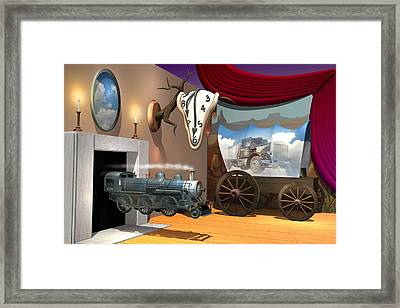 Time Transpired 2 Framed Print