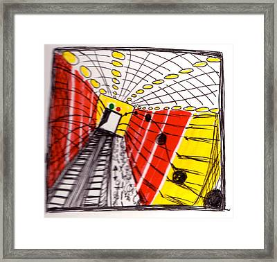 Time Travel 2018 Framed Print by Andrea Cook