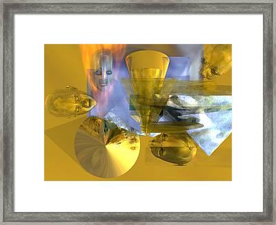 Time Travel #53_p Framed Print by Stephen Donoho