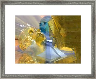 Time Travel #54_p Framed Print by Stephen Donoho