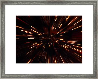 Time Travel Framed Print by Dan Sproul