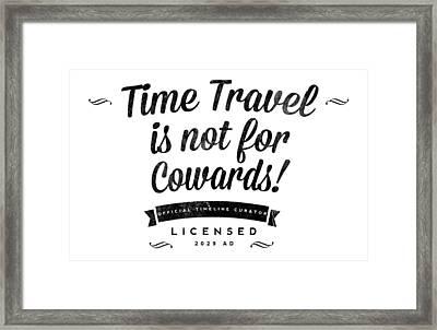 Time Travel One Framed Print