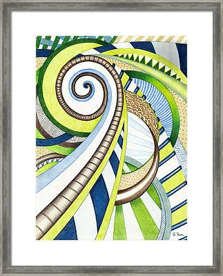 Time Travel Framed Print by Shawna Rowe