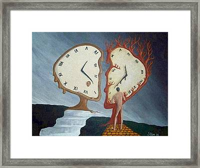 Time Travel Framed Print by Steve  Hester