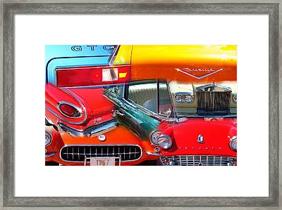 Time Travel Framed Print